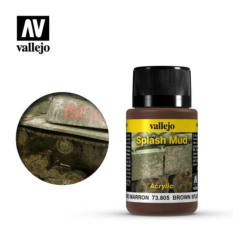 Vallejo Weathering Effects: Barro Marron 73805