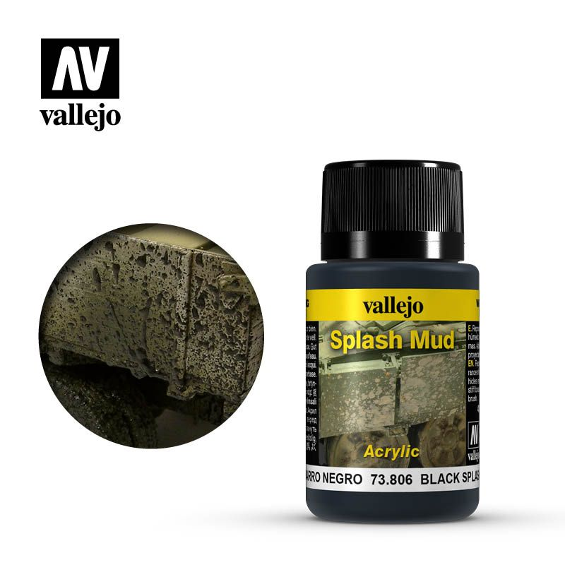 Vallejo Weathering Effects: Barro Negro 73806