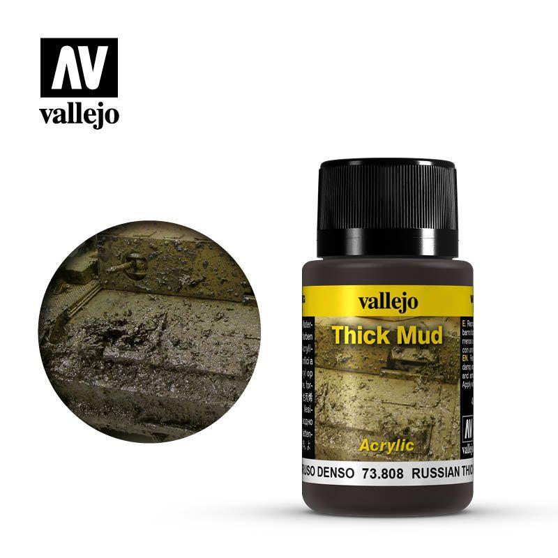 Vallejo Weathering Effects: Barro Ruso 73808