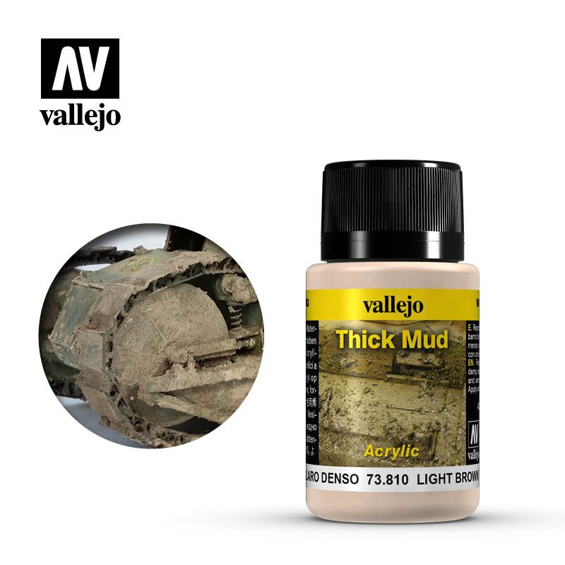 Vallejo Weathering Effects: Barro Marron Claro 73810