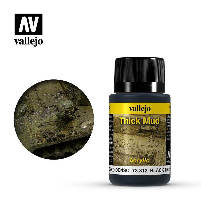 Vallejo Weathering Effects: Barro Negro 73812