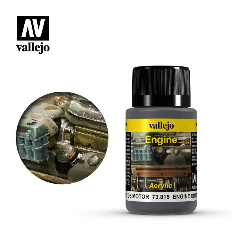 Vallejo Weathering Effects: Suciedad De Motor 73815
