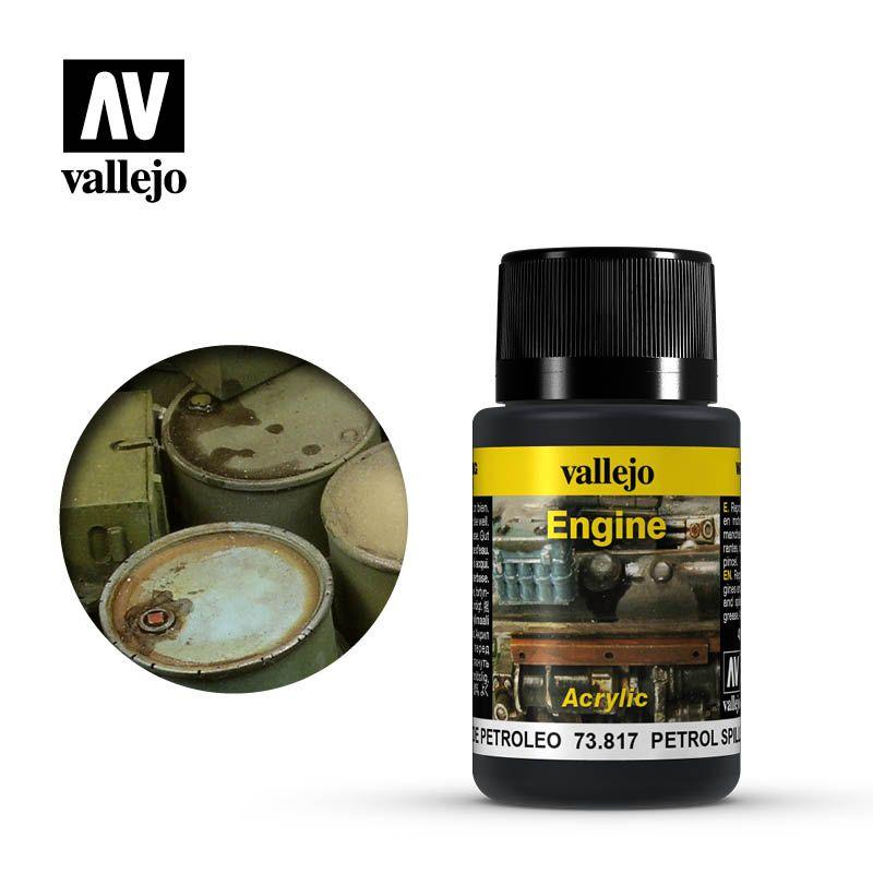 Vallejo Weathering Effects: Salpicaduras De Petroleo 73817