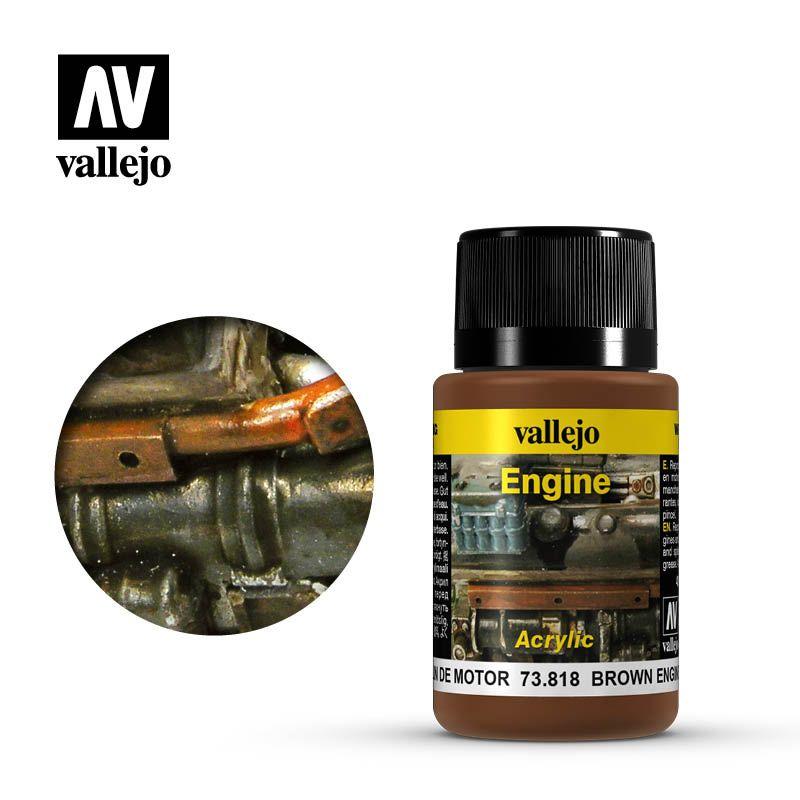 Vallejo Weathering Effects: Hollin De Motor 73818