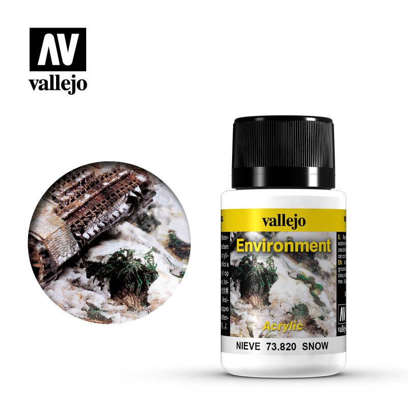 Vallejo Weathering Effects: Nieve 73820