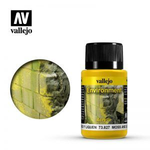 Vallejo Weathering Effects: Musgo Y Liquen 73827