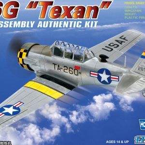 1:72 Hobby Boss 80233 T6G Texan Advanced Trainer Aircraft + Calcas Españolas
