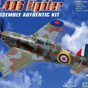 1:72 Hobby Boss 80235 MS406 French WWII Monoplane Fighter