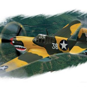1:72 Hobby Boss 80250 P-40E Kitty Hawk