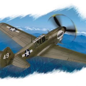 1:72 Hobby Boss 80252 P-40N Kitty Hawk