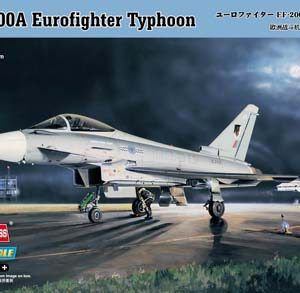 1:72 Hobby Boss 80264 EF-2000 Eurofighter Typhoon + Calcas Españolas