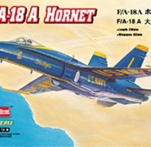 1:72 Hobby Boss 80268 F/A-18A Hornet + Calcas Españolas