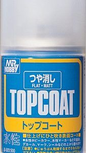 Barníz Acrílico En Spray TOPCOAT (mate) 86 Ml. B-503