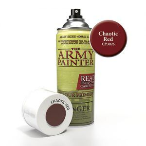 Colour Primer – Chaotic Red