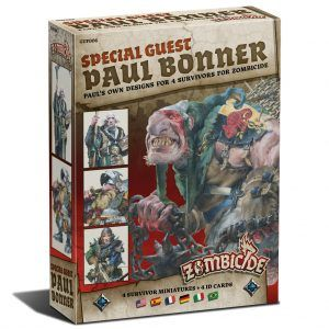 Zombicide Black Plague: Special Guest Box Paul Bonner