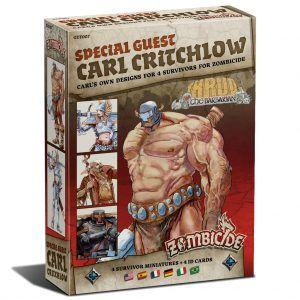 Zombicide Black Plague: Special Guest Box Carl Critchlow