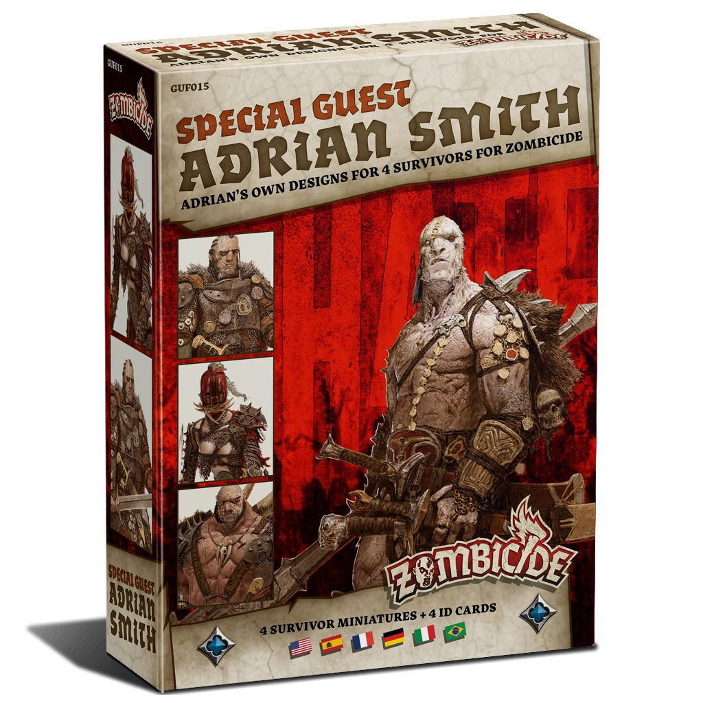 Zombicide Black Plague: Special Guest Box Adrian Smith