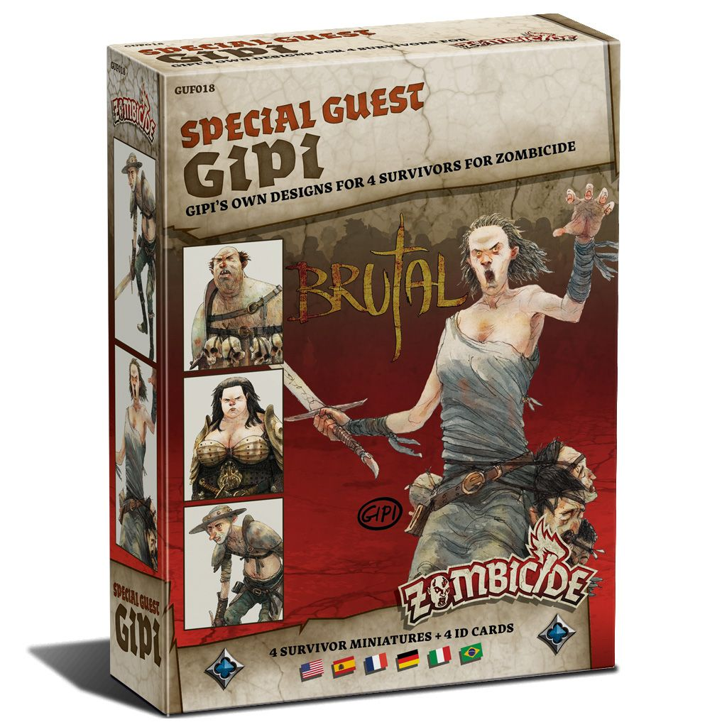 Zombicide Black Plague: Special Guest Box Gipi