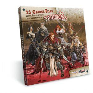 Zombicide Black Plague: Extra Tiles Pack