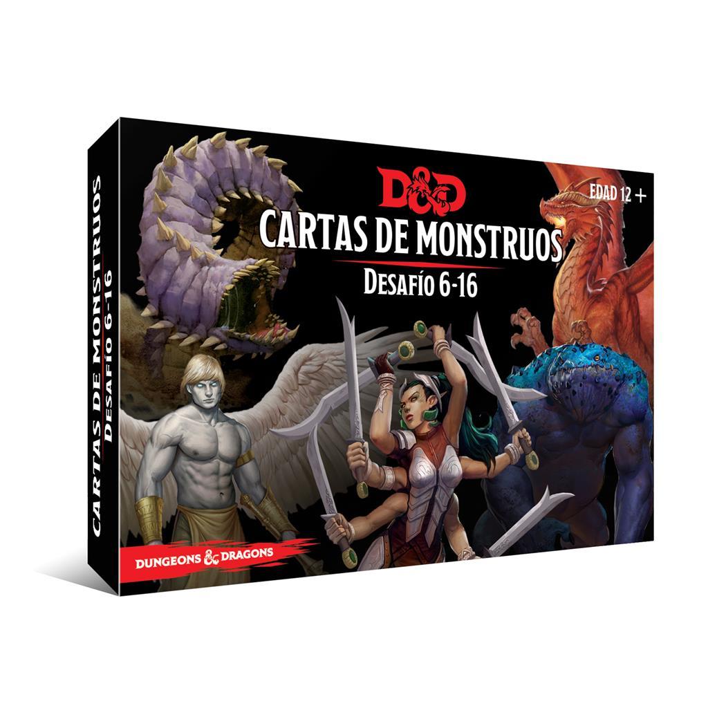 Dungeon & Dragons: Cartas De Monstruos – Desafío 6-16
