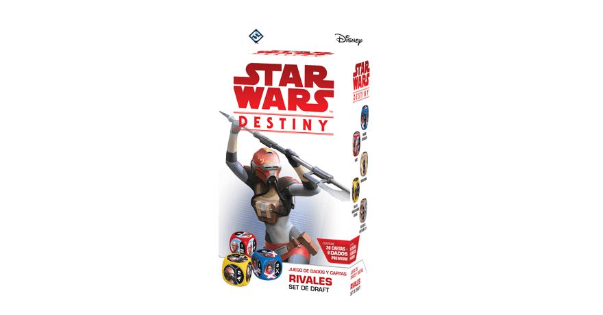 Star Wars Destiny:Rivales Set De Draft