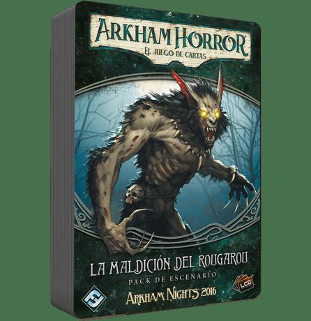 Arkham Horror LCG: La Maldicion Del Raugarou