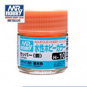 H-10 Cobre Metalizado Pintura Acrílica Gunze – Hobby Color