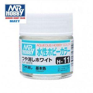 H-11 Blanco Mate Pintura Acrílica Gunze – Hobby Color