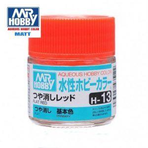 H-13 Rojo Mate Pintura Acrílica Gunze – Hobby Color