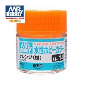 H-14 Naranja Brillante Pintura Acrílica Gunze – Hobby Color