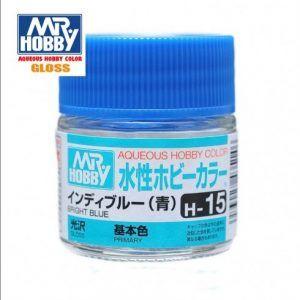 H-15 Azúl Bright Blue Brillante Pintura Acrílica Gunze – Hobby Color