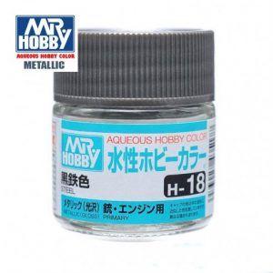 H-18 Acero Metalizado Pintura Acrílica Gunze – Hobby Color