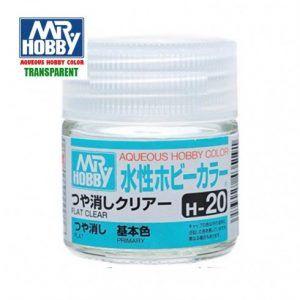 H-20 Barníz Transparente Mate Pintura Acrílica Gunze – Hobby Color