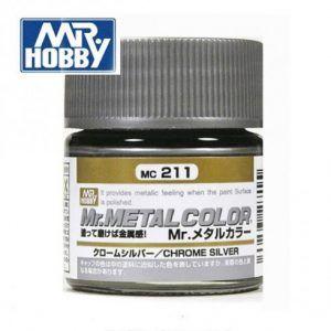Mr. Metal Color Chrome Silver (Plata Cromada) Gunze MC-211