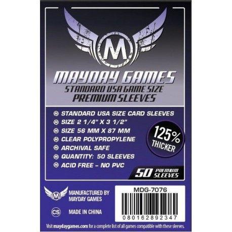 Fundas Mayday – 56×87 Mm Standard USA Card Sleeves (50)
