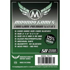 Fundas Mayday: Premium 63.5×88 Card Game Card Sleeves (50) (7077)