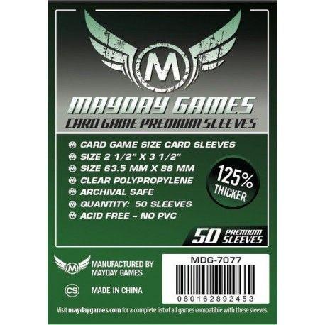 Fundas Mayday – 63.5×88 Card Game Card Sleeves (50)