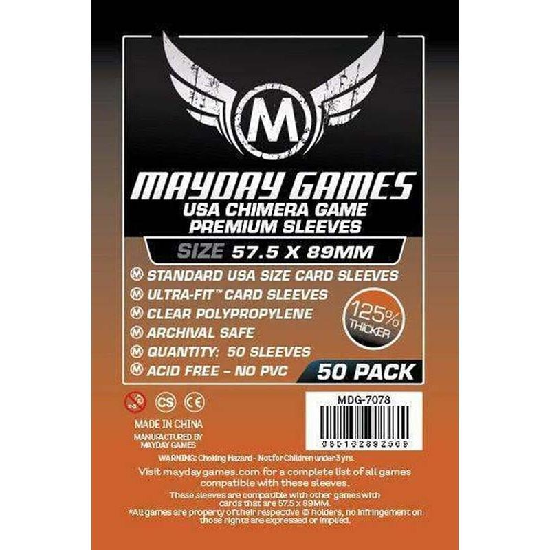 Fundas Mayday – 57.5×89 Mm Standard USA Chimera Card Sleeves (50)