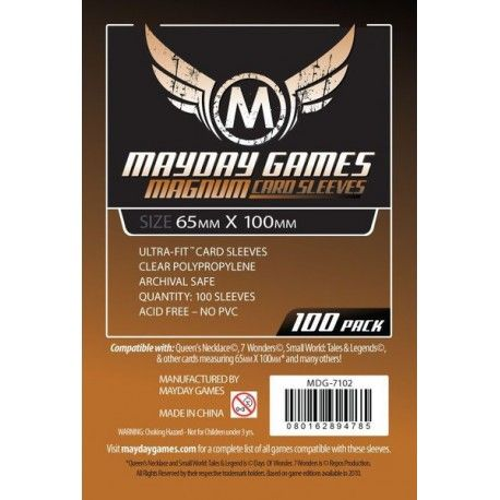 Fundas Mayday – 65×100 Mm Card Sleeves (100)