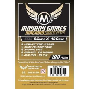 Fundas Mayday: 80×120 Mm Dixit Card Sleeves (100) (7104)