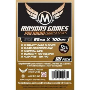 Fundas Mayday: Premium Magnum Copper Sleeve 65×100 – 7 Wonders (80u) (7106)