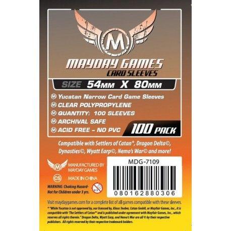 Fundas Mayday – Yucatan Narrow Card Game Sleeves 54×80 (100u)