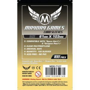 Fundas Mayday: Magnum Space Card Sleeve 61×103 (100u) (7127)