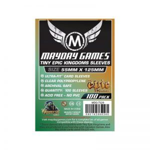Fundas Mayday – Custom Tiny Epic Kingdoms Sleeves 88×125 (100u)