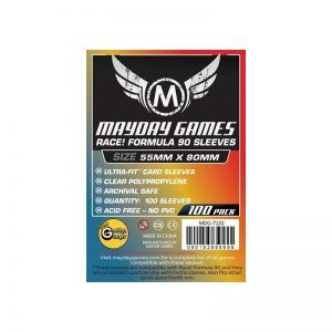 Fundas Mayday: Race! Formula 90 Card Sleeves 55×80 (100u) (7132)