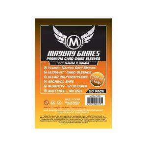 Fundas Mayday: Premium Yucatan Narrow Card Game Sleeves 54×80 (50u) (7136)