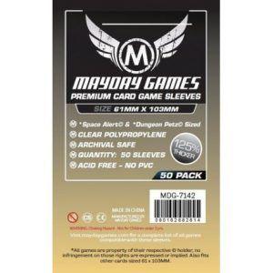 Fundas Mayday: Premium Space Card Sleeve 61×103 (50u) (7142)