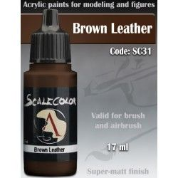 Scalecolor: Brown Leather SC-31