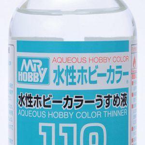 Diluyente Aqueous Hobby Color 110 Ml. Gunze T-110