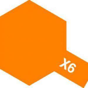 Acrylic Mini X-6 Orange